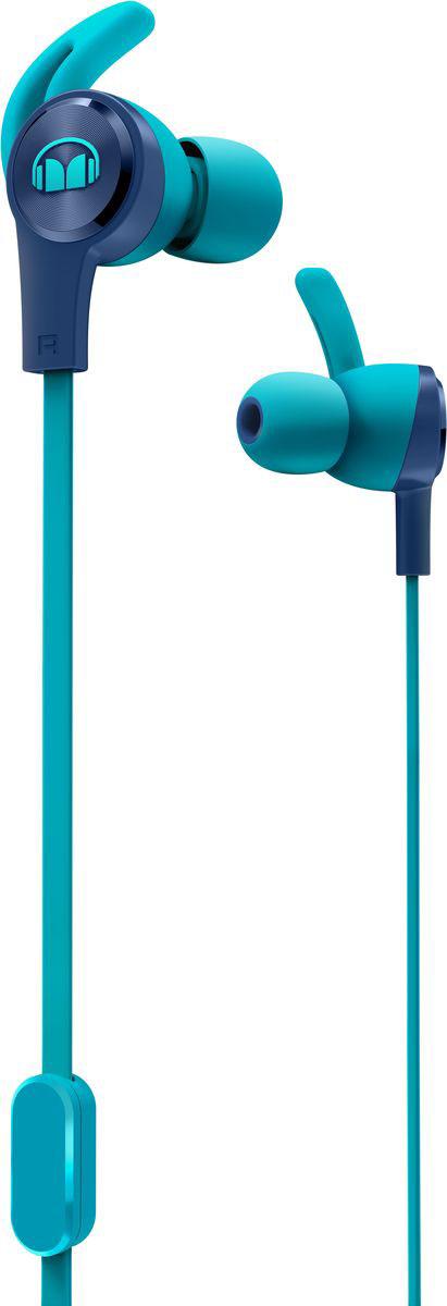 Monster iSport Achieve, Blue наушники137093-00Вставные спортивные наушники iSport Achieve с запатентованными технологиями Monster - лучшие в своем ценовом сегменте.Эксклюзивное крепление SecureFit от Monster позволяет наушникам оставаться на месте в течении самой подвижной тренировки в тренажерном зале. Высокая шумоизоляция позволит сосредоточиться на треках, а покрытие с защитой от пота добиться наибольшей интенсивности тренировок с максимальным комфортом.