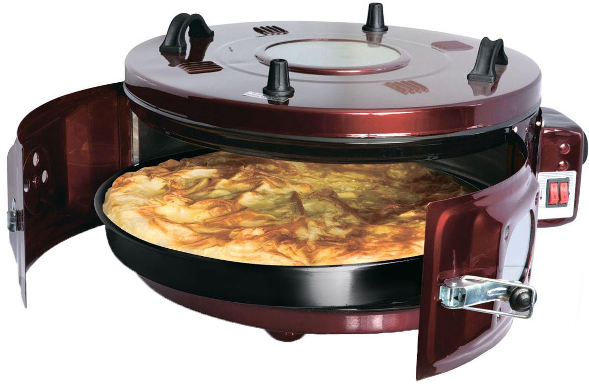 Proffi PH7815 мультипечьPH7815Мультипечь Proffi PH7815 - революция на вашей кухне. Эта чудо-печь позволит вам жарить, тушить, печь, готовить на гриле без использования масла.Румяные пироги и ароматная курочка, сочная свинина с душистыми травами и хрустящий хлеб – это далеко не все блюда, которые вы сможете приготовить с легкостью вместе с мультипечью от Proffi.Надежная система блокировки и простота в управлении делают мультипечь незаменимой помощницей умелой хозяйки,а термостойкие ручки и подставки под горячее, входящие в комплектацию, не дадут обжечься и оберегут заботливые руки, готовящие вкуснейшие обеды и ужины.Данная модель заменит сразу 4 устройства на вашей кухне: духовку, тандыр, русскую печь и аэрогриль. За счет технологии циркуляции горячего воздуха блюда получатся с хрустящей, ароматной корочкой и останутся нежные внутри. Диаметр внутреннего противня 41 см с вместительность 28 литров позволит готовить на большую семью и не ограничивать кулинарную фантазию.Вы сможете управлять температурой внутри печи с такой же легкостью, как убавить огонь в духовке, и контролировать все происходящее с вашим кулинарным шедевром через окошко в верхней крышке. А функция поддержки температуры не даст остыть ужину, даже если домашние задержатся в дороге.