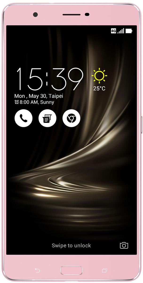 ASUS ZenFone 3 Ultra ZU680KL, Pink Gold (90AK0013-M00360) - Смартфоны