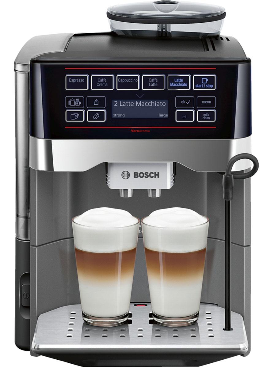 Bosch TES60523RW, Silver кофемашина
