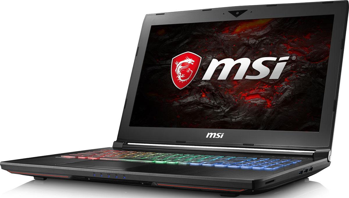 MSI GT62VR 7RE-275RU Dominator Pro, BlackGT62VR 7RE-275RUMSI создала игровой ноутбук GT62VR 7RE Dominator Pro с новейшим поколением графических карт NVIDIA GeForce GTX 1070. Благодаря инновационной системе охлаждения Cooler Boost и специальным геймерским технологиям, применённым в игровом ноутбуке GT62VR 7RE Dominator Pro, графическая карта новейшего поколения NVIDIA GeForce GTX 1070 сможет продемонстрировать всю свою мощь без остатка. Олицетворяя концепцию Один клик до VR и предлагая полное погружение в игровые вселенные с идеально плавным геймплеем, игровой ноутбук MSI разбивает устоявшиеся стереотипы об исключительной производительности десктопов. Он готов поразить любого геймера, заставив взглянуть на мобильные игровые системы по-новому.7-ое поколение разблокированных процессоров Intel Core i7 обрело более энергоэффективную архитектуру, продвинутые технологии обработки данных и оптимизированную схемотехнику. Кроме того, производительность ядра нового CPU возросла более чем на 10%, мультимедийная производительность - более чем на 10%, а скорость декодирования/кодирования 4K-видео - на 6-10%. Аппаратное ускорение 10-битных кодеков VP9 и HEVC стало менее энергозатратным, благодаря чему эффективность воспроизведения видео 4K HDR значительно возросла. Великолепное сочетание игровых ноутбуков MSI и 7-го поколения процессоров Intel Core i7 обеспечит боьлше дополнительной мощи для более плавного VR-геймплея в ресурсоёмких VR-играх. Запускайте игры быстрее других благодаря потрясающей пропускной способности PCI-E Gen 3.0x4 с поддержкой технологии NVMe на одном устройстве M.2 SSD. Используйте потенциал твердотельного диска Gen 3.0 SSD на полную. Благодаря оптимизации аппаратной и программной частей достигаются экстремальный скорости чтения до 2200МБ/с, что в 5 раз быстрее твердотельных дисков SATA3 SSD.Вы сможете достичь максимально возможной производительности вашего ноутбука благодаря поддержке оперативной памяти DDR4-2400, отличающейся скоростью чтения более 32 Гбайт/с