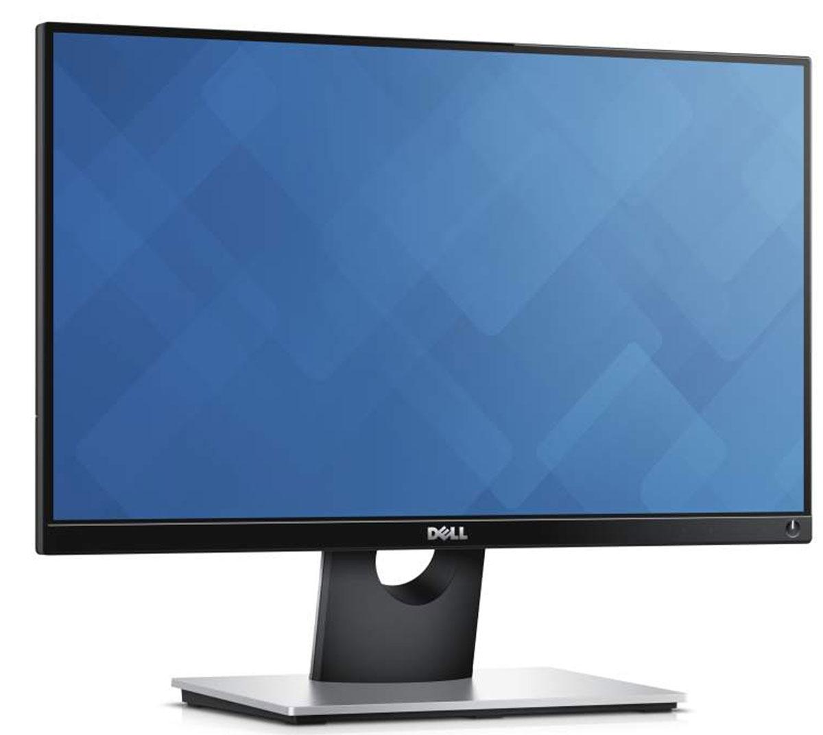 Dell S2216H, Black монитор216H-1989Стильный и изящный 22-дюймовый монитор Dell с расширенной областью обзора, сформированной с помощью сверхтонкой фронтальной панели, обеспечивает исключительные возможности для развлечений.Стильный дизайн. Оцените изящество тонких глянцевых фронтальных панелей, прочность корпуса и удобство интуитивно понятных сенсорных кнопок. Полный эффект присутствия при прослушивании аудио и просмотре видео. Получайте максимальное удовольствие от развлечений благодаря разрешению Full HD, элегантному экрану и двум интегрированным динамикам мощностью 3 Вт. Надежность и простота эксплуатации. Простота подключения как к самым современным ПК, так и к ПК предыдущих поколений с помощью портов VGA и HDMI.