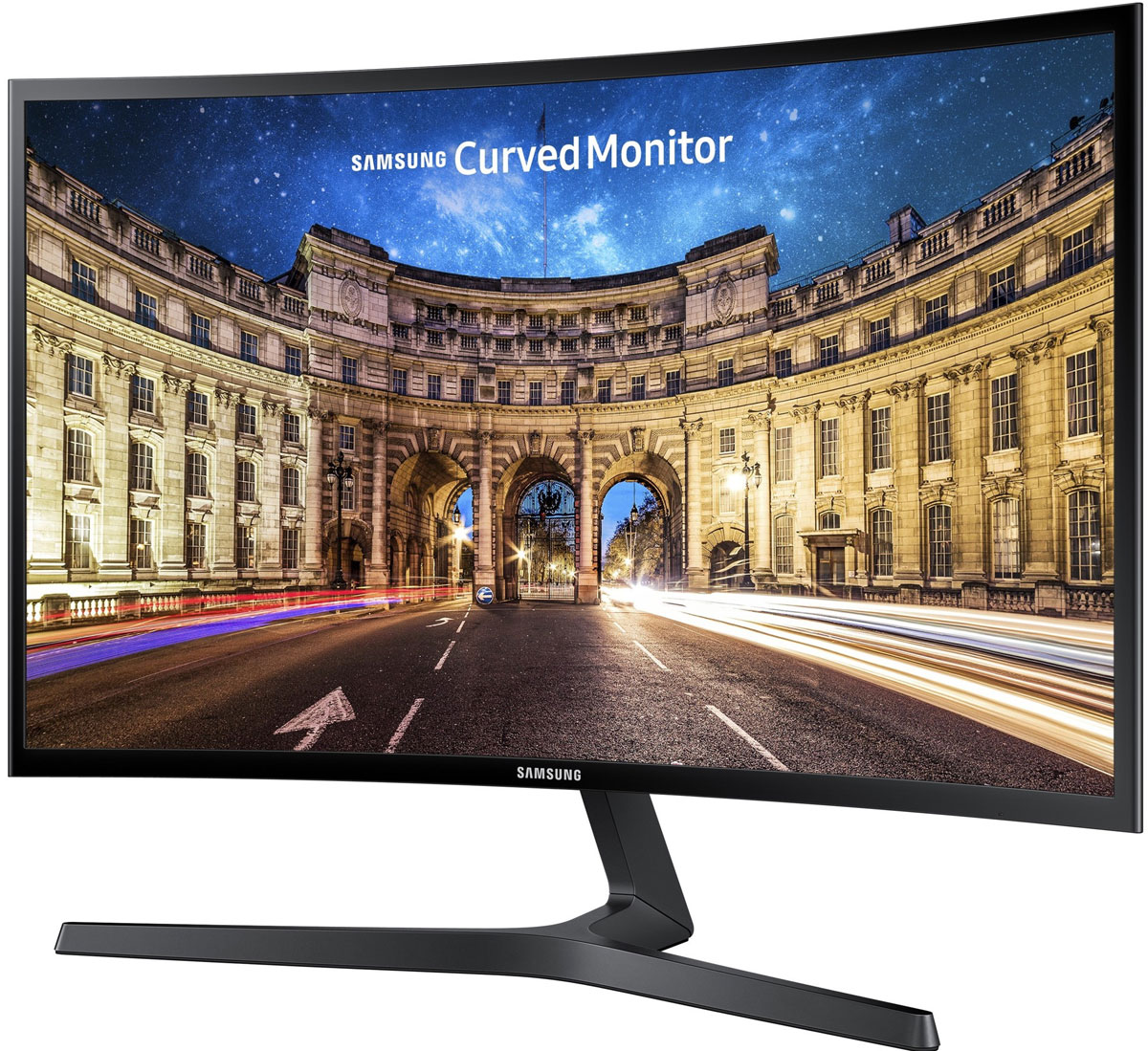 Samsung LC27F396FHI, Black монитор