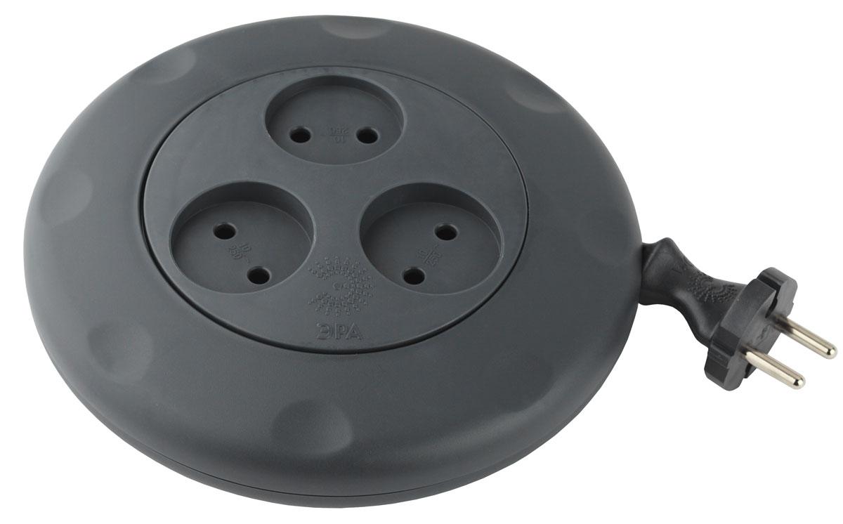 ЭРА UR-3-3m-B, Black удлинитель-рулеткаUR-3-3m-BУдлинитель ЭРА CalypsoКатушка - удобный ручной механизм сматывания проводаМаксимальная мощность - 10А/2200ВМатериал копуса - полипропилен с антипиренами (негорючий)Контактные группы - латунь3 гнезда3 м (10/600)