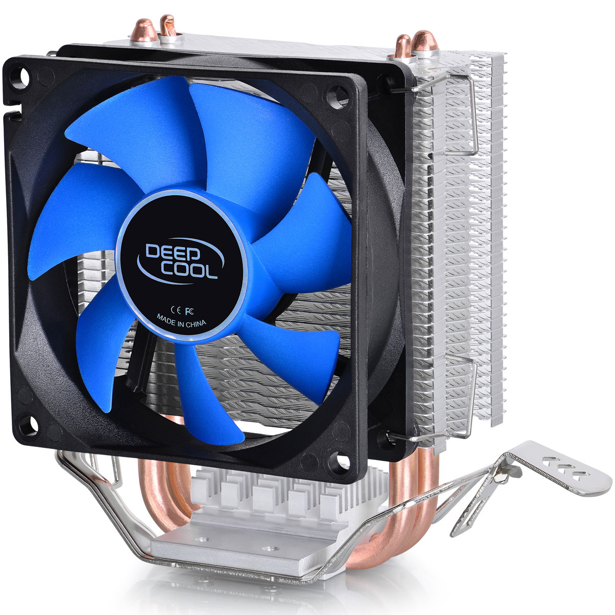 Deepcool Ice Edge Mini FS V2.0 кулер компьютерныйICE EDGE MINI FS V2.0Кулер Deepcool Ice Edge Mini FS V2.0 понравится многим за счет своего небольшого размера и отличной работоспособности. Заявленная рассеиваемая мощность (100 Вт), пластины радиатора, изготовленные из качественного алюминия, медное основание, прекрасно справляющееся с переносом тепла от процессора к двум теплоотводящим трубкам – всем этим может похвастаться Deepcool Ice Edge Mini FS V2.0. Модель легко устанавливается на современные сокеты Intel и AMD.