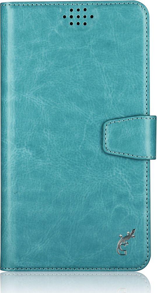 G-Case Slim Premium универсальный чехол для смартфонов 3,5-4,2, Blue g case slim premium чехол для iphone 6 plus dark blue