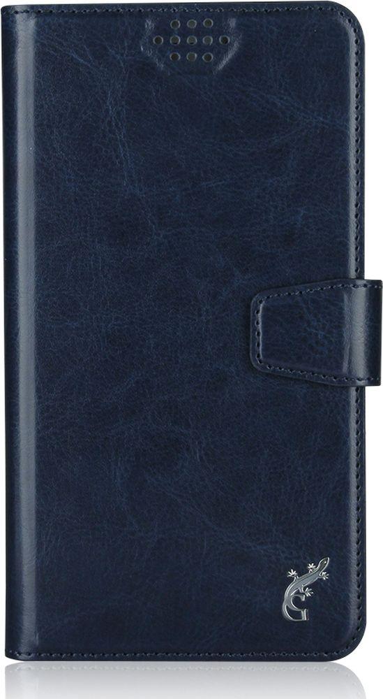 G-Case Slim Premium универсальный чехол для смартфонов 3,5-4,2, Dark BlueGG-766Стильный универсальный чехол-книжка G-Case Slim Premium подходит для смартфонов с диагональю от 3,5 до 4,2 дюймов. Выполнен из высококачественных материалов и служит для защиты корпуса и экрана от царапин, пыли и падений. Чехол надежно фиксирует устройство. Имеет свободный доступ ко всем разъемам и камере устройства.