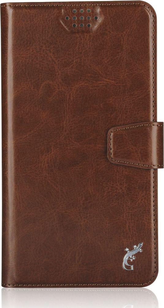 G-Case Slim Premium универсальный чехол для смартфонов 4,2-5 , Brown - Чехлы