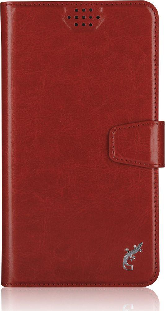 """G-Case Slim Premium универсальный чехол для смартфонов 5-5,5"""", Red"""