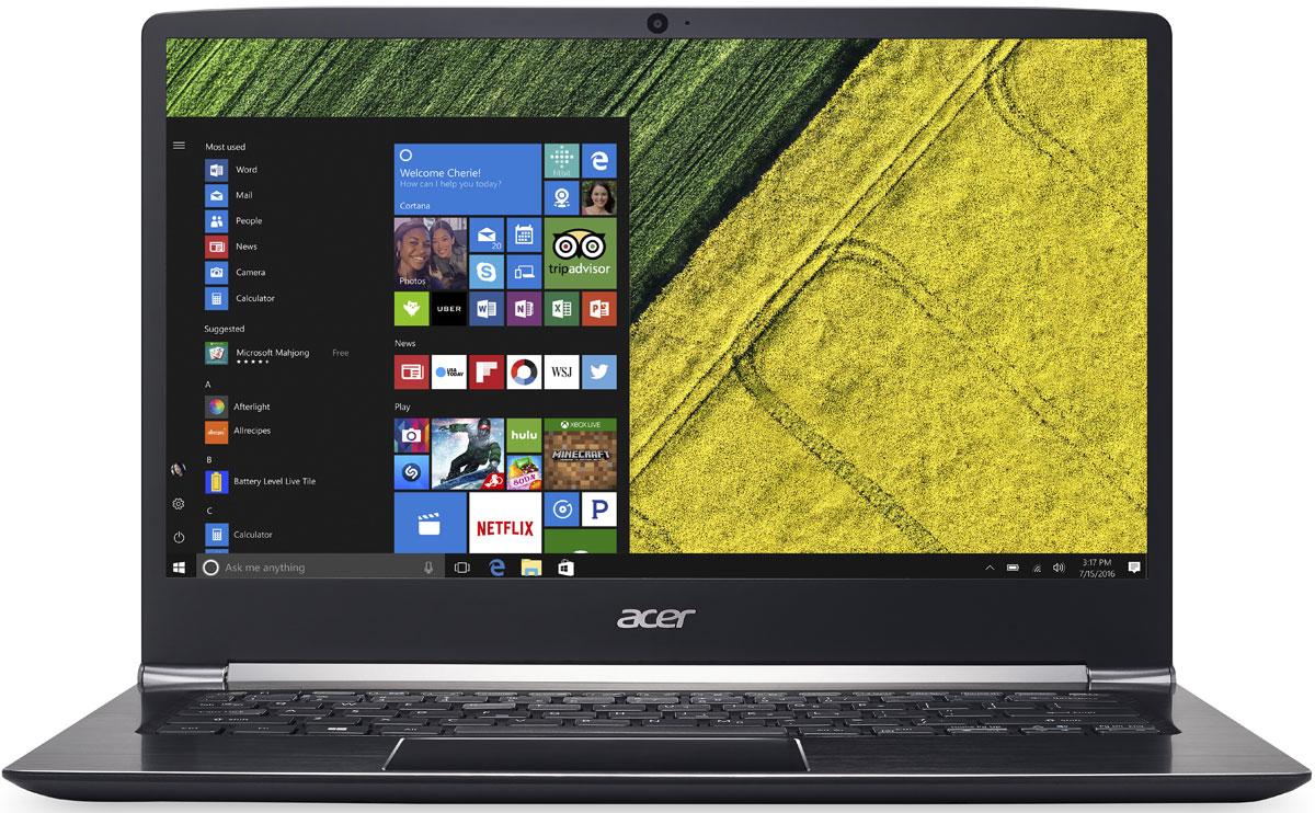 Acer Swift 5 SF514-51-73Q8, BlackSF514-51-73Q8Acer Swift 5 SF514-51-73Q8 - портативный ноутбук с толщиной корпуса 14,58 мм и весом 1,36 кг.Клавиатура с подсветкойБлагодаря подсветке клавиш вы можете продолжать работать даже вечером при тусклом освещении.Благодаря времени автономной работы 13 часов вы сможете работать целый день.Потоковые трансляции без задержек и скорость загрузки до пяти раз быстрее в сравнении стали доступны с решениями на базе технологии 802.11n.Технологии Acer TrueHarmony и Dolby Audio обеспечивают превосходную четкость звучания.Встроенный датчик отпечатка пальца совместим с Windows Hello, что позволяет выполнять безопасный вход в систему буквально одним касанием.Сохраняйте высокую производительность в течение всего дня с новейшими процессорами Intel и длительным временем автономной работы.Точные характеристики зависят от модели.Ноутбук сертифицирован EAC и имеет русифицированную клавиатуру и Руководство пользователя.