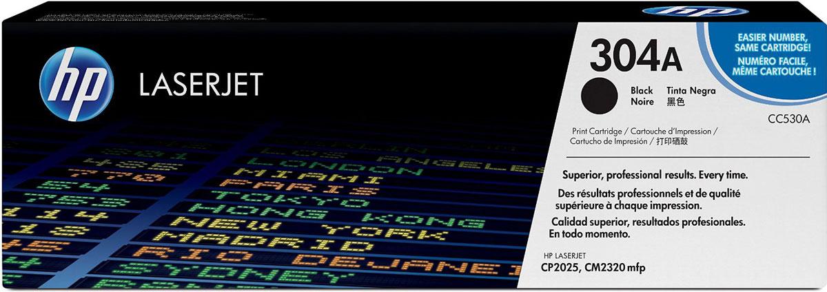 HP CC530A (304A), Black тонер-картридж для Color LaserJet CP2025/CM2320CC530AВаши документы не останутся незамеченными. Тонер-картридж HP CC530A (304A) позволяет печатать материалы профессионального качества прямо в офисе: оцените яркие и запоминающиеся цвета, четкий текст и фотореалистичные изображения. Кроме того, оригинальные расходные материалы HP LaserJet позволят добиться максимальной производительности печати.Насыщенный цвет и четкая графика, привлекающая внимание. Реалистичные фотографии профессионального качества говорят больше, чем все слова мира. Разборчивый текст и четкость деталей передадут все, что вы хотели сказать. Улучшенный тонер HP ColorSphere — это профессиональное качество и великолепные результаты печати.Благодаря оригинальным расходным материалам HP LaserJet печать становится еще проще. Печатайте все что угодно — от цветных маркетинговых материалов полиграфического качества до недорогих черно-белых документов.Экономия времени и средств, затрачиваемых на повторную печать. Интеллектуальные технологии повышают качество и надежность системы печати. Равномерная цветопередача на высокой скорости печати обеспечивается настройкой системы в соответствии с уникальными характеристиками тонера HP ColorSphere.