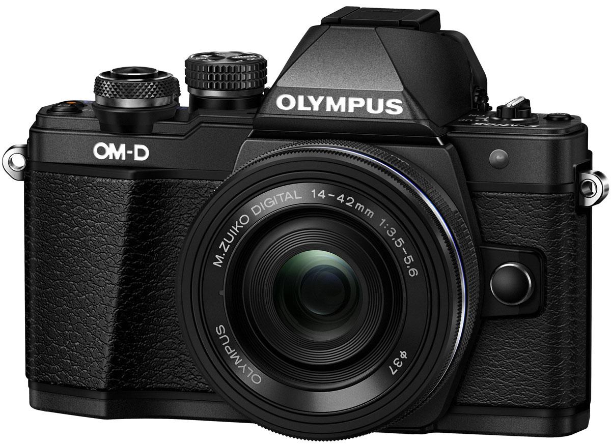 Olympus OM-D E-M10 Mark II Kit 14-42 EZ, Black цифровая фотокамера
