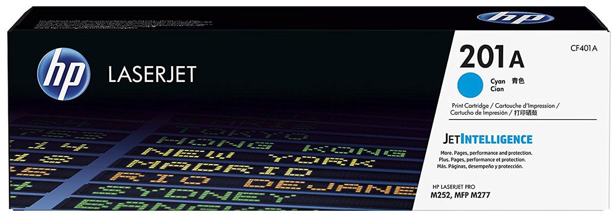 HP CF401A (201A), Cyan тонер-картридж для Color LaserJet Pro M252/M274/M277CF401AОригинальные лазерные картриджи HP 201A с технологией JetIntelligence оснащены инновационными средствами проверки и отличаются потрясающей производительностью при высокой скорости работы.Будьте уверены, что извлекаете максимум выгоды из каждого картриджа. Оригинальные лазерные картриджи HP LaserJet с технологией JetIntelligence гарантируют точное отслеживание уровня расхода тонера.Количество высококачественных документов, которые вы сможете напечатать, превзойдет все ожидания. Тонер ColorSphere 3 был специально разработан для повышения производительности принтера. Низкая температура плавления гарантирует профессиональное качество печати.Все оригинальные лазерные картриджи HP LaserJet с поддержкой JetIntelligence оснащены эксклюзивной технологией HP по борьбе с поддельной продукцией. При установке картриджа в принтер его подлинность проверяется автоматически.