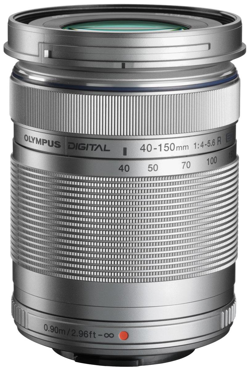 Olympus M.Zuiko Digital ED 40-150mm 1:4.0-5.6 R, Silver объективV315030SE000Компактный объектив Olympus M.Zuiko Digital ED 40-150mm 1:4.0-5.6 R идеально подойдет как для съемки крупным планом, так и для пейзажных фото; как в помещении, так и на открытом воздухе. Механизм MSC, встроенный в объектив, позволит вам также снимать качественное видео. В сочетании с объективом 14-42mm вы будете готовы к любым жанрам и условиям съемки.Механизм MSC - это продукт передовой технологии, который дает объективам быстрый и бесшумный автофокус. Фокусирующая линза перемещается с помощью металлического вала и винтового стержня, а не шестерни - именно она и является причиной шума.