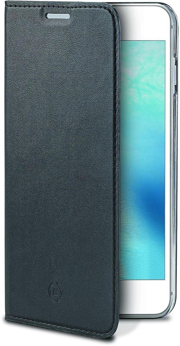 Celly Air Case, Black чехол для Apple iPhone 7AIR800BKЧехол-книжка Celly Air Case для Apple iPhone 7 выполнен из высококачественных материалов и практически не увеличивает размер устройства. А благодаря его удобной конструкции все функциональные кнопки и разъемы остаются свободными. Чехол надежно защитит ваш аппарат от царапин и сколов, механических повреждений, а также позволит хранить кредитные карты или визитки в специально отведенном кармашке. Крышка может использоваться как подставка под устройство для удобного просмотра видео.