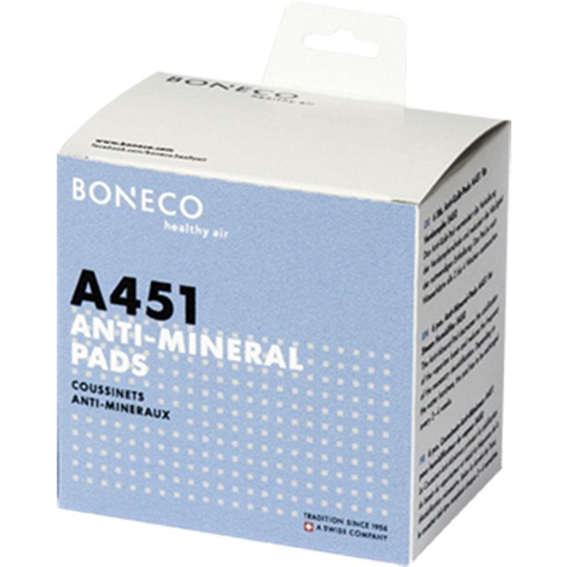 Boneco A451 Calc Pad Boneco AOS противоизвестковый диск для увлажнителя воздуха S450, 6 штA451 Calc Pad Boneco AOSПротивоизвестковый диск Boneco A451 для защиты паровых увлажнителей Boneco S450, S250 от накипи. Принцип его работы — это снижение образования известкового налета в испарительном отсеке, что способствует снижению частоты ухода за прибором.Диск рекомендуется менять каждые 3-4 недели в зависимости от жесткости воды.