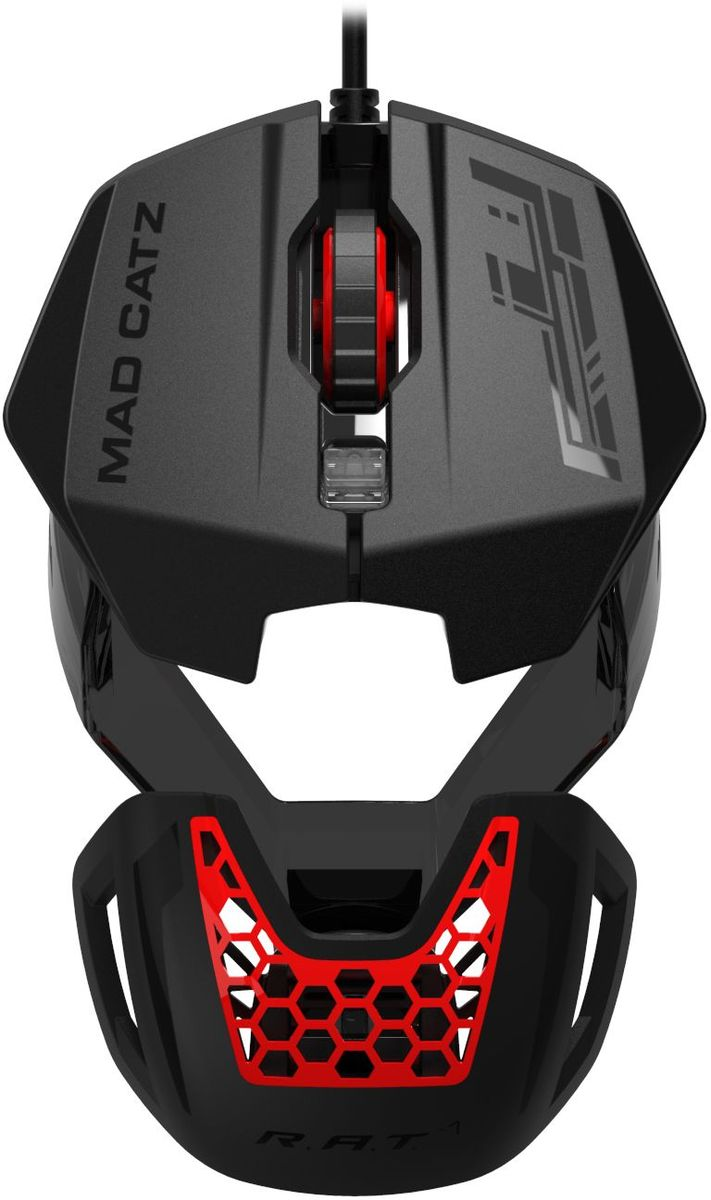 Mad Catz R.A.T.1, Black Red игровая мышь
