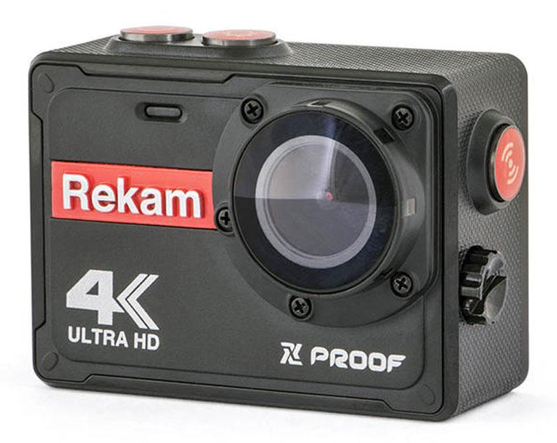 Rekam XPROOF EX640, Black экшн-камера2680000003Экшн-камера Rekam XPROOF EX640 позволяет записывать видео с разрешением 4К и очень плавным изображением до 30 кадров в секунду. Камера оснащена 2 TFT LCD экраном. Она создана специально для спортсменов-экстремалов, мечтающих снять на видео самые яркие моменты своих приключений.Обычная видеокамера не выдерживает сложных условий съемки, скорости, перепадов температур, тогда как экшн-камера Rekam XPROOF EX640 благодаря конструктивным особенностям и техническим характеристикам легко справляется с этими задачами. Важным преимуществом камеры является маленький вес и миниатюрные габариты, способствующие фиксации устройства на теле спортсмена, не стесняя свободы движений.Емкость аккумулятора: 1000 мAч.Класс водонепроницаемости -IPX-8.