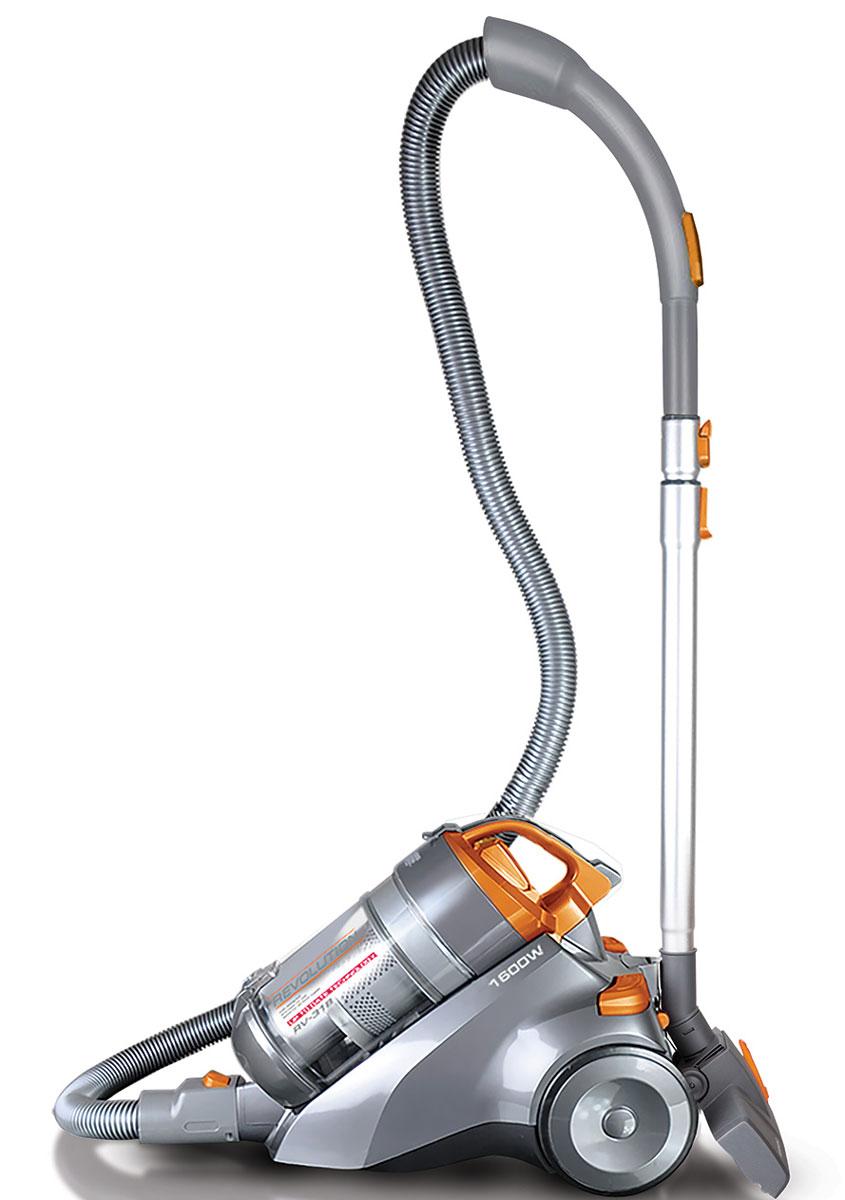 Redmond RV-318 пылесосRV-318Пылесос Redmond RV-318 – новая современная модель со сдержанным дизайном и высокотехнологичной системой Мультициклон, которая превратит процесс уборки в комфортное и приятное занятие. В этом универсальном приборе для наведения идеальной чистоты и безупречного порядка восхищает каждая мелочь: необычайно гибкий и прочный шланг, надёжная телескопическая трубка из нержавеющей стали, солидная мощность и почти бесшумная работа.Пылесос RV-318 наделён огромным потенциалом для создания в доме особой кристальной атмосферы уюта. Этому способствует многоступенчатая циклоническая система фильтрации и EPA-фильтр.Redmond RV-318 дополняют такие очевидные преимущества, как автоматическая смотка электрошнура и необычайно лёгкая очистка контейнера. Вы избавите себя от массы домашних хлопот!
