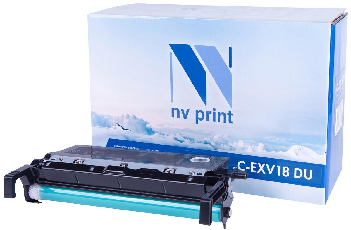 NV Print CEXV18DU, Black фотобарабан для Canon IR1018/1022NV-CEXV18DUДрам-картридж NV Print CEXV18DU производится по оригинальной технологии из совершенно новых комплектующих. Все картриджи проходят тестовую проверку на предмет совместимости и имеют сертификаты качества.Лазерные принтеры, копировальные аппараты и МФУ являются более выгодными в печати, чем струйные устройства, так как лазерных картриджей хватает на значительно большее количество отпечатков, чем обычных.
