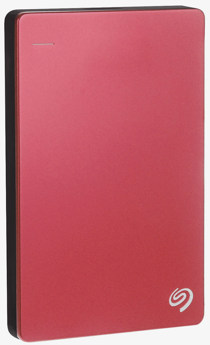Seagate Backup Plus Portable Slim 1TB USB3.0, Red (STDR1000203) внешний жесткий диск