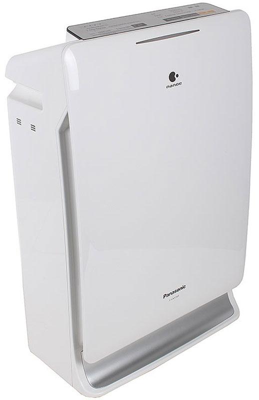Panasonic F-VXF35R-S очиститель воздухаF-VXF35R-SPanasonic F-VXF35R-S - воздухоочиститель, который обеспечивает наиболее комфортный уровень влажности воздуха.Уникальная технология Nanoe защищает ваше здоровье и сохраняет красоту. Данная модель также очищает комнатную среду путем мощного всасывания воздуха в том числе в 30 см от пола - там, где играют дети.Panasonic F-VXF35R-S обеспечивает очищение воздуха от аллергенов, вирусов, бактерий и неприятных запахов. Предусмотрена индикация необходимости замены фильтра, чистоты и влажности воздуха. Благодаря ночному режиму осуществляется работа комплекса с низким уровнем шума в течение 8 часов для комфортного сна.