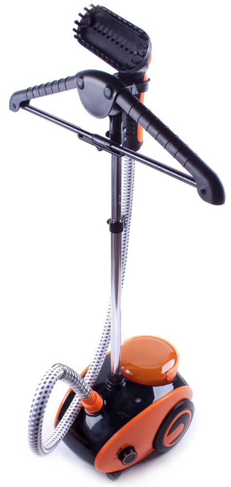 Endever Odyssey Q-4 отпаривательQ-4Отпариватель Endever Odyssey Q-4 представляет собой устройство для отпаривания и очистки изделий любых типов тканей с использованием пара. Имеет элегантный дизайн, прост в использовании, экономичен и безопасен. Применяется для вещей из хлопка, шелка, капрона, нейлона, полиэстера, драпа, меха, кожи и других. Легко и быстро отпаривает платья, брюки, блузы, юбки. Чистит, освежает изделия из шерсти и трикотажа, избавляет вещи от частых стирок и химчисток. Пар – самый бережный и эффективный способ глажения, очистки, дезинфекции одежды, белья и различных поверхностей. Мощная струя пара температурой до 103°С без применения химических средств уничтожает грязь и патогенную микрофлору (бактерии, клещей, грибок), что особенно важно для семей с маленькими детьми и для людей с аллергическими заболеваниями.Штанга телескопическая.Длина в сложенном виде: 49 см.Длина в разложенном виде: 131 см.