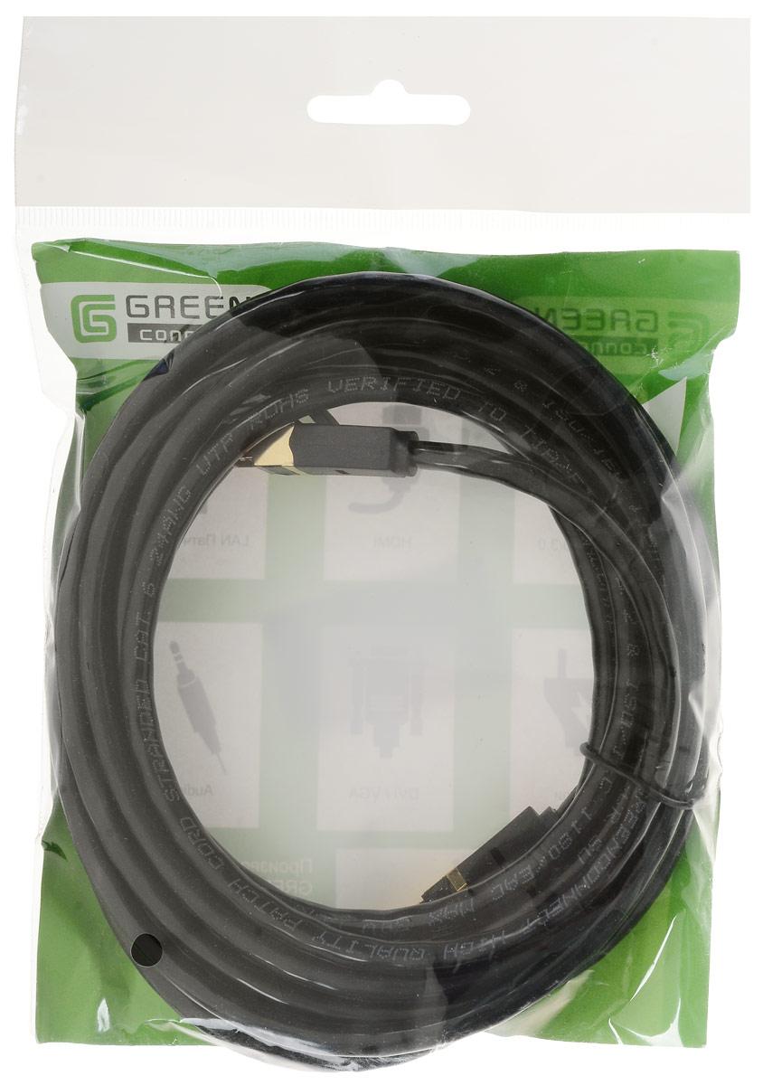 Greenconnect GCR-LNC061 сетевой кабель (3 м)GCR-LNC061-3.0mВысокотехнологичный современный литой кабель Greenconnect GCR-LNC061 используется для подключения к интернету на высокой скорости. Подходит для подключения персональных компьютеров или ноутбуков, медиаплееров или игровых консолей PS4 / Xbox One, а также другой техники и устройств, у которых есть стандартный разъем подключения кабеля для интернета LAN RJ-45. Соответствие сетевого кабель Greenconnect GCR-LNC061 современному стандарту UTP Cat5e обеспечивает возможность подключения к интернету со скоростью до 1 Гбит/с. С такой скоростью любимые фильмы будут загружаться меньше чем за полминуты, а музыка - мгновенно. Внешняя оболочка сетевого кабеля Greenconnect изготовлена из экологически чистого ПВХ, соответствующего европейскому стандарту безотходного производства RoHS.