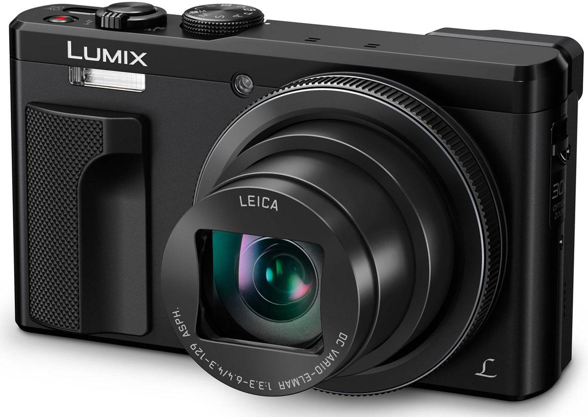 Panasonic Lumix DMC-TZ80, Black цифровая фотокамера