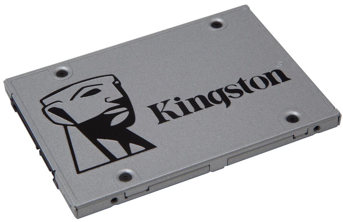 Kingston UV400 240Gb SSD-накопительSUV400S37/240GSSD Kingston UV400 оснащен четырехканальным контроллером Marvell и обеспечивает потрясающую скорость работы и повышенную производительность по сравнению с механическими жесткими дисками. Он значительно повышает скорость работы вашего компьютера и в 10 раз быстрее, чем жесткий диск со скоростью 7200 об/мин.UV400 более надежен и долговечен, чем жесткий диск; он изготовлен с использованием флеш-памяти, поэтому он имеет ударопрочную конструкцию, устойчив к вибрациям и менее подвержен сбоям, чем механический жесткийдиск. Его надежность делает этот накопитель идеальным выбором для ноутбуков и других мобильных цифровых устройств.UV400 предоставляет достаточно пространства для хранения всех ваших файлов, приложений, видео, фотографий и других важных документов. Он станет альтернативой жесткому диску.