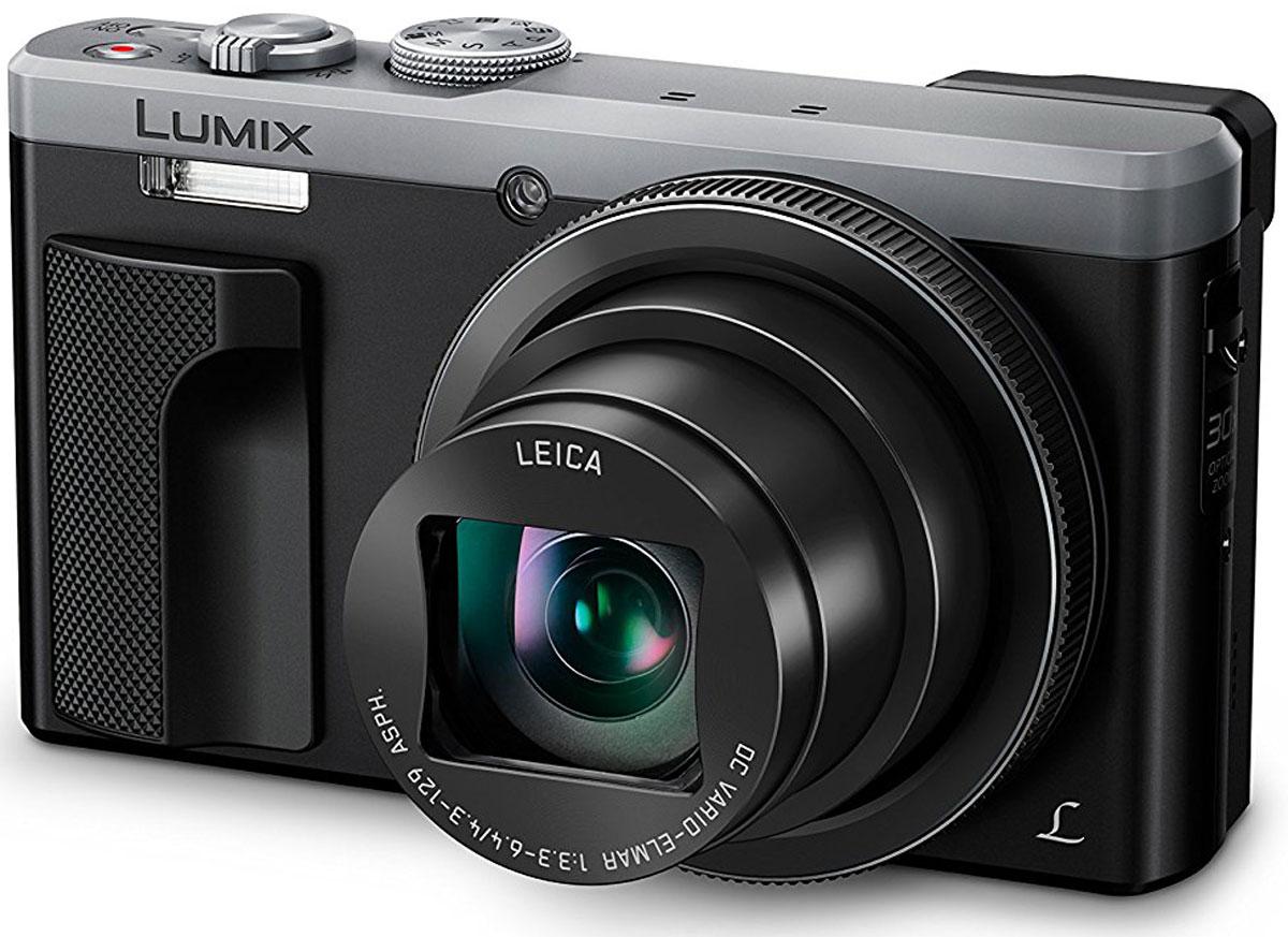 Panasonic Lumix DMC-TZ80, Silver цифровая фотокамераDMC-TZ80EE-SPanasonic Lumix DMC-TZ80 - камера для путешествий с 30-кратным зумом и режимом 4К.Возьмите эту портативную камеру в следующее путешествие. Мощный объектив с 30-кратным оптическим зумом и возможность фото- и видеозаписи в формате 4к позволите невероятной точностью сохранить воспоминания о вашем путешествии.Камера позволит вам попасть в центр событий. 24-миллиметровый объектив LEICA DC VARIO-ELMAR оснащен 30-кратным оптическим зумом. поэтому вы можете сфотографировать интересный объект даже если он находится далеко.Благодаря поддержке технологии 4К в DMC-TZ80, режим 4К Фото позволит вам создавать идеальные снимки со скоростью 30 кадров в секунду и выбирать лучший кадр уже после съемки. Снимайте, выбирайте и сохраняйте. Благодаря 4К Фото для вас не останется неуловимых моментов.Представьте, что вы можете точно выбрать, что именно должно находиться в фокусе. даже после того, как вы сняли фотографию. Функция постфокусировки в камере LUMIX позволит вам это сделать. Просто снимите сцену, откройте изображение и коснитесь той части снимка, которая должна быть резкой. Это просто.Порой яркий солнечный свет мешает просмотру даже на самых ярких экранах. Данная модель оснащена видоискателем Live View, который автоматически включается, когда вы подносите камеру к глазу, так что вы увидите малейшие детали и снимете именно тот кадр, который хотели.Кольцо управления также обеспечивает дополнительное удобство в работе. Кроме плавного ручного управления диафрагмой, скоростью затвора, зумом и фокусировкой, его можно настроить под управление вашими любимыми настройками.