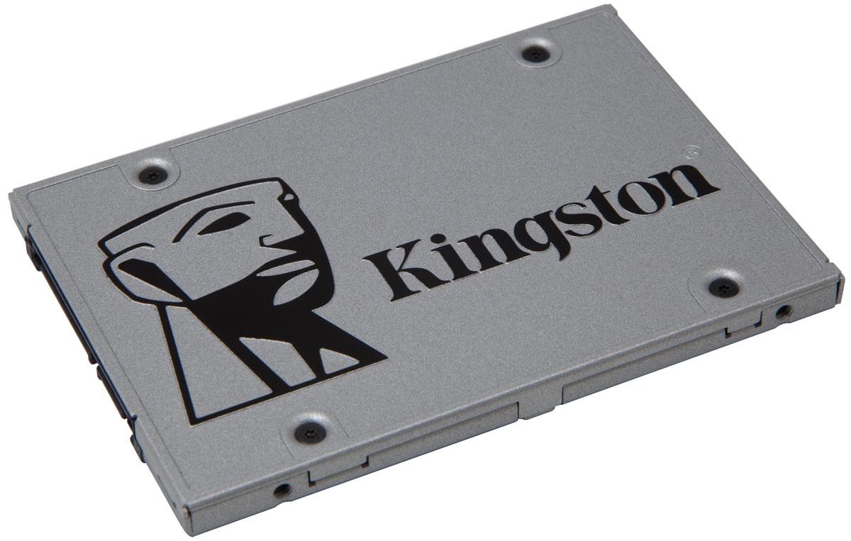 Kingston UV400 960Gb SSD-накопитель с комплектом апгрейдаSUV400S3B7A/960GSSD Kingston UV400 оснащен четырехканальным контроллером Marvell и обеспечивает потрясающую скорость работы и повышенную производительность по сравнению с механическими жесткими дисками. Он значительно повышает скорость работы вашего компьютера и в 10 раз быстрее, чем жесткий диск со скоростью 7200 об/мин.UV400 более надежен и долговечен, чем жесткий диск; он изготовлен с использованием флэш-памяти, поэтому он имеет ударопрочную конструкцию, устойчив к вибрациям и менее подвержен сбоям, чем механический жесткийдиск. Его надежность делает этот накопитель идеальным выбором для ноутбуков и других мобильных цифровых устройств. Для удобства установки UV400 поставляется со всем необходимым для установки SSD в вашу систему - корпус с USB-разъемом для передачи данных, адаптер 2-3,5 дюйма для монтажа в настольном компьютере, кабель передачи данных SATA и купон на загрузку ПО Acronis для переноса данных.UV400 предоставляет достаточно пространства для хранения всех ваших файлов, приложений, видео, фотографий и других важных документов. Он станет альтернативой жесткому диску.