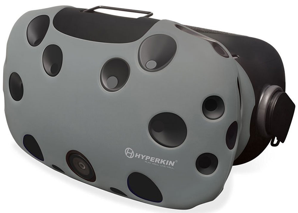 Hyperkin GelShell, Gray чехол для HTC Vive (M07200) - Виртуальная реальность