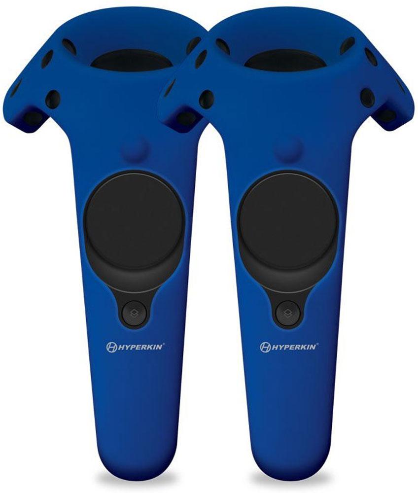 Hyperkin GelShell, Blue чехол для контроллеров HTC Vive, 2 шт (M07201)M07201-BUСиликоновые чехлы Hyperkin GelShell защитят контроллеры от падений и сохранят их функциональность. Гарантируют удобный хват. Они добавляют прочности, не мешают корректной работе сенсоров.