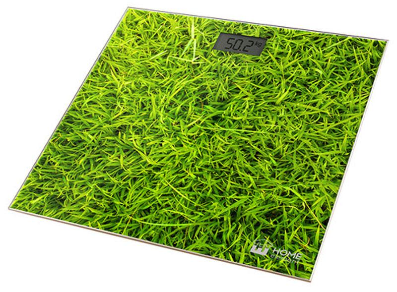 Home Element HE-SC906 Молодая трава напольные весыHE-SC906Весы напольные Home Element HE-SC906 позволяют не только взвешиваться, но и имеют отличный дизайн. Они не занимают много места, имеют надежнейший механизм и не оставляют равнодушными.Весы обеспечивают взвешивание до 180 килограммов с точностью до 100 граммов и способны работать в различных единицах измерения.Цифровой дисплей, индикаторы перегрузки и замены батареи, включение от прикосновения, а также функция автоматического обнуления и отключения подарят наибольший комфорт при использовании весов и надолго сохранят заряд батарейки.Весы HE-SC906 - это красиво оформленный надежный и точный прибор. Он обязательно подарит вам удовольствие от использования и отличное настроение!