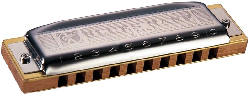 Hohner Blues Harp 532/20 MS A (M533106X) губная гармошка - Духовые инструменты