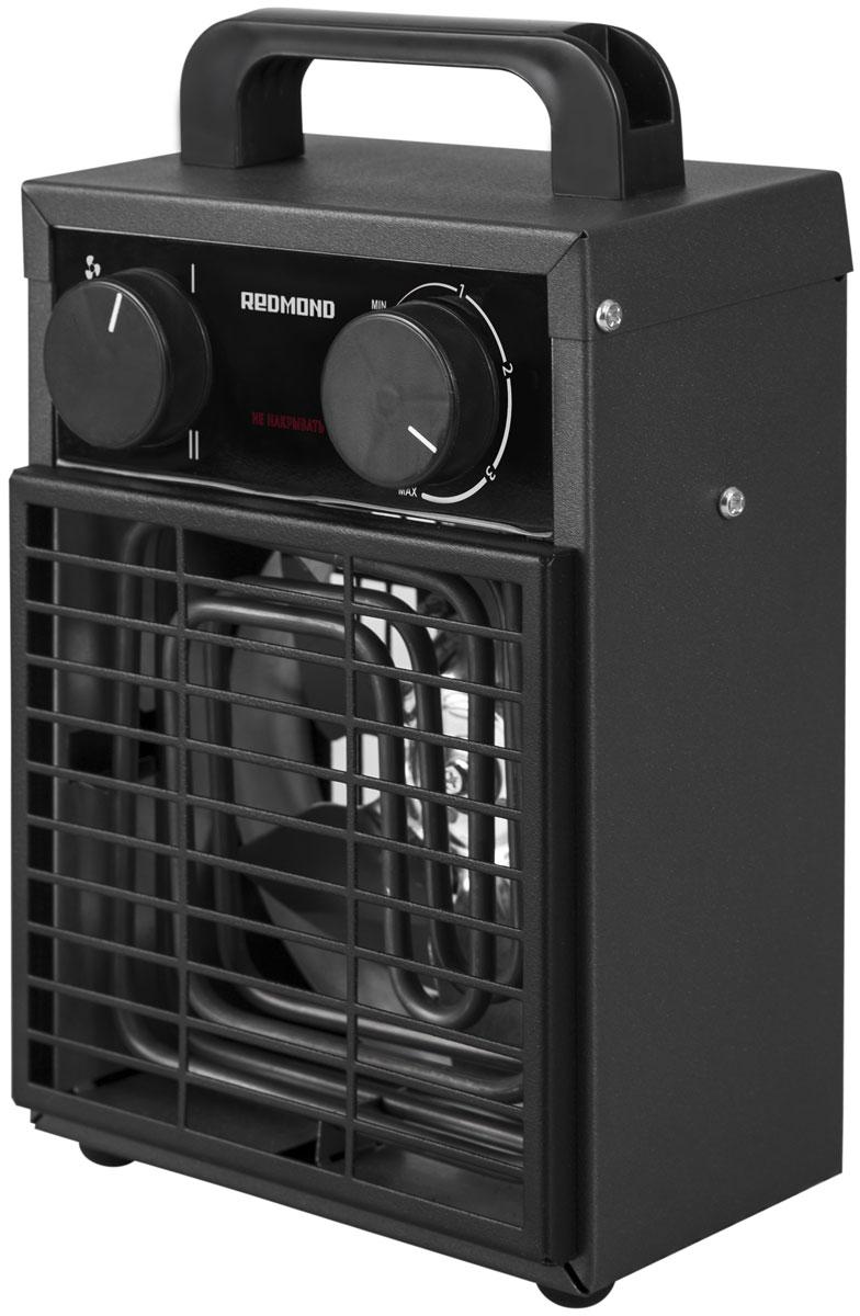 Redmond RFH-4551S тепловентиляторRFH-4551SЕсли в обогреве или дополнительном источнике тепла нуждается ваш гараж, частная мастерская, загородный дом или веранда, лучшего решения, чем умный тепловентилятор Redmond RFH-4551S, вам не найти! Управлять данной моделью можно как непосредственно с помощью регуляторов на корпусе, так и дистанционно – из любой точки мира через мобильное приложение Ready for Sky.Удаленно включите 4551S за некоторое время до прибытия на дачу, если решили приехать туда на выходные. К вашему возвращению дом будет уютным и теплым – тепловентилятор может прогреть помещение до 30 м2.Вам необходимо, чтобы техника или инструменты на веранде или в гараже не пострадали от низких температур, а для этого помещения нужно периодически протапливались? Настройте через приложение расписание работы модели по дням недели и по времени – тепловентилятор будет автоматически включаться и выключаться в заданные часы.Также со смартфона можно заблокировать ручное включение тепловентилятора.Помимо основной функции – обогрева помещений – тепловентилятор Redmond RFH-4551S может использоваться также для вентиляции помещений.Время непрерывной работы: не более 24 часовСтандарт передачи данных: Bluetooth v4.0Поддерживаемые ОС: Android 4.4 KitKat или выше, iOS 8 или вышеИндикация: светодиоднаяДлина электрошнура: 1,15 м