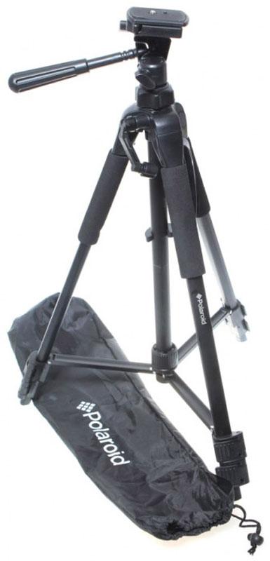 Polaroid 57, Black штативPLTRI57Polaroid 57 - это универсальный, многофункциональный штатив, оснащенный блинной головкой, которая имеет прекрасную совместимость с большим количеством разнообразных устройств, от зеркальных камер до внешних вспышек.Устройство оборудовано тремя трехсекционными ножками с функцией автоблокировки, что предоставит пользователям настоящую свободу при использовании. Кроме того, ножки этого штатива оснащены поворотными резиновыми наконечниками, которые предотвратят поверхность вашего стола или пола от царапин и повреждений.