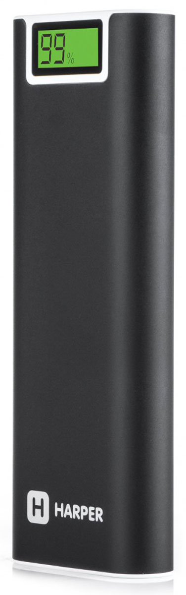 Harper PB-2013 внешний аккумулятор (13200 мАч)H00001222Внешний аккумулятор Harper PB-2013 – мощное и надежное портативное устройство. С PB-2013 вы можете не беспокоится о том, что вдали от сетевых источников энергии ваш гаджет разрядится в самый неподходящий момент.Harper PB-2013 имеет серьезную емкость – 13200 мАч. Этого объема заряда хватит на неоднократную подзарядку даже самых мощных смартфонов.Два порта USB позволяют подключать одновременно два внешних потребителя тока. Каждый порт обеспечивает напряжение 5 В и силу тока – 2,1 А, что способствует быстрому циклу заряда любого цифрового устройства.Встроенный фонарь поможет в трудную минуту (в походе, на природе, в быту).Смарт-чип обеспечит правильный цикл заряда внешних потребителей. Он может контролировать как уровень заряда встроенных батарей, так и батарей подключаемых устройств.Harper PB-2013 имеет защиту от коротких замыканий. Корпус из алюминия – надежно защищает батареи от механических воздействий и неприхотлив в обслуживании.