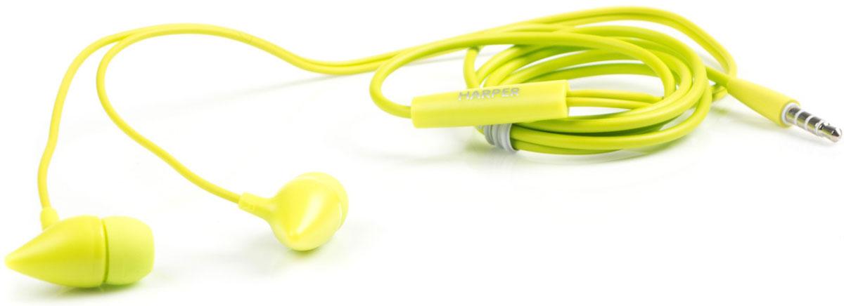 Harper HV-403, Green наушникиH00001181Наушники Harper HV-403 сочных цветов, выполненные в форме ушек маленьких монстров, не могут не привлечь к себе внимание! Насыщенный красный, ультрамодный лайм, черная и белая классика или розовый глянец - подобрать наушники себе по стилю и цвету сможет каждый, и при этом Harper HV-403 станут отличным аксессуаром не только для ребенка, но и для взрослого.Чтобы наушники максимально гармонично работали именно с вашим смартфоном, производители Harper HV-403 предусмотрели два режима интерпретации команд от многофункциональной кнопки - для iPhone, Samsung и других аналогичных гаджетов (режим S), а также для Lenovo, ZTE и других смартфонов китайского производства (режим N).Чтобы наушники работали превосходно, не нужно устанавливать какие-либо сторонние программы и утилиты. Треки можно переключать или перематывать всего одной клавишей. Мультифункциональная кнопка также принимает и завершает вызовы, запускает и останавливает музыку.Благодаря анатомической форме амбушюр и высокому качеству передачи звука (воспроизводимые частоты 20-20000 Гц, импеданс - 32 Ом, чувствительность - 102 дБ) наушники-вкладыши Harper HV-403 идеально передают музыку, особенно басы. Внутриканальные амбушюры снизят слышимость внешних шумов, и вы сможете по-настоящему насладиться звучанием любимых треков.Наушники оснащены встроенным микрофоном с повышенной четкостью передачи звука. Принять вызов или завершить его можно кнопкой на корпусе с микрофоном.
