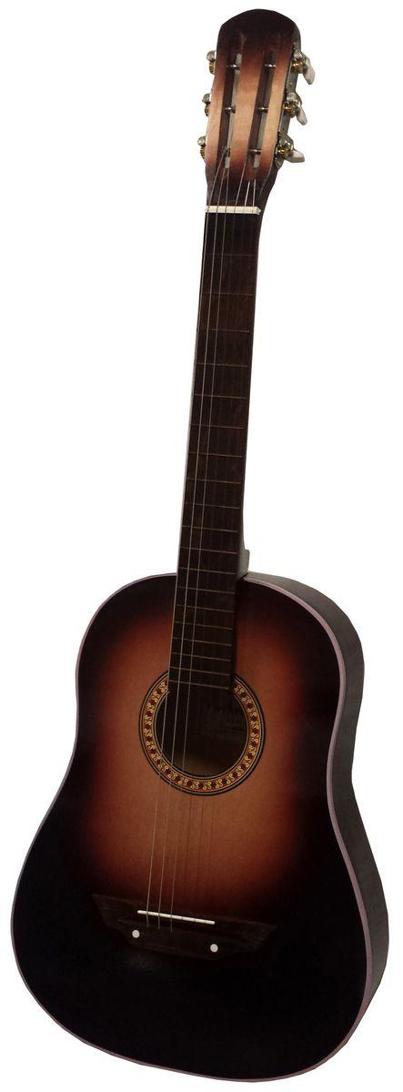 Аккорд Classic 2, Dark Brown акустическая гитара - Гитары