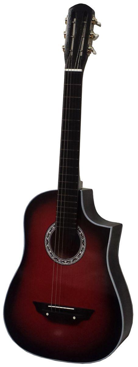 Аккорд Classic Professional, Red Black акустическая гитара - Гитары
