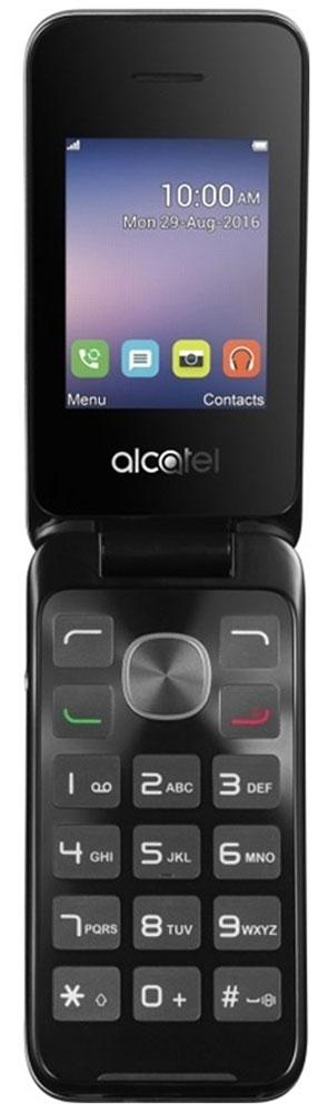 Alcatel OT-2051D, Black Metal Silver2051D-3AALRU1Alcatel OT-2051D - традиционный кнопочный телефон-раскладушка, компактный и простой в использовании. Он обеспечит владельцу возможность вести телефонные разговоры и обмениваться SMS-сообщениями. Удобная клавиатура позволяет с легкостью набрать нужный номер или текстовое сообщение. 2-мегапиксельная камера придется кстати, если на пути попалось что-то интересное. При этом ы сможете как сделать эффектное фото, так и вести видеозапись различных событий.В Alcatel OT-2051D предусмотрено FM-радио и аудиоплеер. Вы можете прослушивать любимые радиопередачи или аудиозаписи в любом месте, где бы вы ни находились. Слот для карты памяти объемом до 32 Гб обеспечит вам возможность записи огромного количества любимых песен!Alcatel OT-2051D оснащен двумя слотами для SIM-карт позволит вам комбинировать наиболее выгодные тарифы различных операторов, а также сочетать рабочую SIM-карту с SIM-картой для общения с близкими в одном устройстве.Телефон сертифицирован EAC и имеет русифицированную клавиатуру, меню и Руководство пользователя.