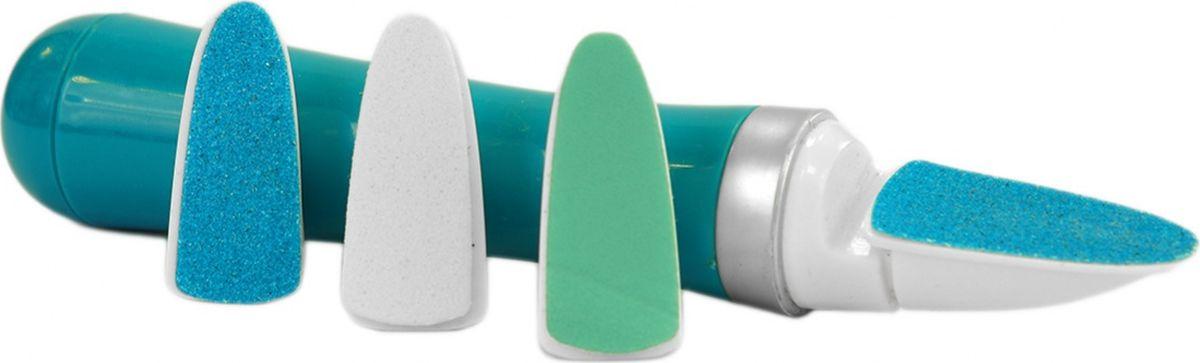 Bradex Электрическая пилка для ногтейKZ 0424Простая в использовании электрическая пилка для ногтей поможет сделать идеальный маникюр и педикюр прямо у себя дома. В набор входят три сменные насадки для подпиливания, шлифовки и полировки ногтей. Пилка работает от одной батарейки типа АА. Материал: АБС пластик, металл, карбид кремнияКомплектация: Прибор для ухода за ногтями 1шт, сменные головки 3шт;Размер: 17x3x2.5смРаботает от 1 батарейки типа АА (не включена)