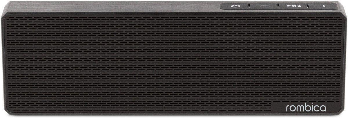 Rombica MySound BT-11 2C, Black портативная акустическая системаSBT-0011BПортативная акустическая система Rombica MySound BT-11 2C совместима со всеми популярными устройствами с поддержкой Bluetooth. Встроенный сабвуфер обеспечивает улучшенное воспроизведение низких частот.Прием звонков с телефона: громкая связьBluetooth стандарт: v2.1 + EDRАккумулятор: 1200 мАч / 3.7 ВНаличие сабвуфераПокрытие корпуса, имитирующее брашированный метал