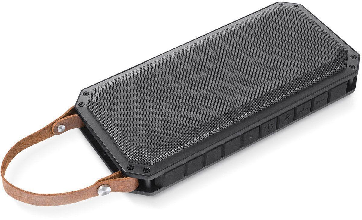 Rombica MySound BT-19, Gray Black портативная акустическая системаSBT-00190Аудиопроигрыватель Rombica MySound BT-1 совместим со всеми популярными устройствами с поддержкой Bluetooth, а также воспроизводит музыку через аудиовход. Два встроенных сабвуфера дают глубокий и насыщенный бас. Двухстороннее звучание идеально подходит для вечеринок. Емкий аккумулятор 2x2200 мАч обеспечивает долгую работу. Помимо воспроизведения музыки Rombica MySound BT-19 может также зарядить ваш смартфон.Диаметр широкополосного динамика: 50 ммДва усилителя, 70 мм в диаметре