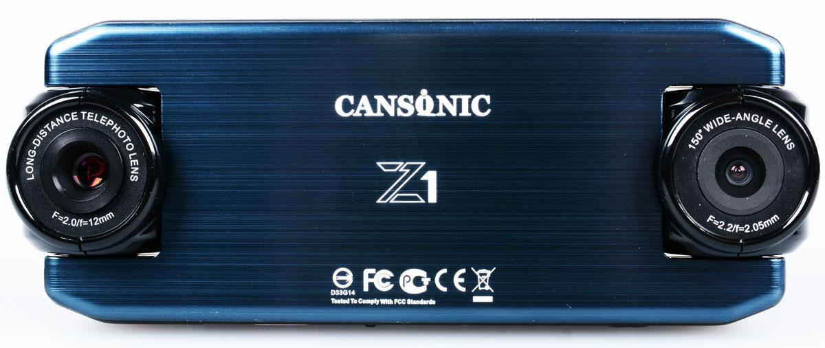 Cansonic Z1 Zoom, Black видеорегистратор4627087521288Автомобильный видеорегистратор Cansonic Z1 Zoom с двумя поворотными с разным углом обзора. Данная модель пишет видео в с двух камер.Правая камера снимает с узким углом обзора (25 градусов), что позволяет различать регистрационные знаки автомобилей, левая камера снимает с широким углом обзора (150 градусов), что позволяет видеть дорожную обстановку.Устройство имеет две поворотных камеры. Левая камера - панорама с углом обзора в 150° позволяет снимать общую дорожную обстановку. Правая камера - бинокль позволяет видеть номерные знаки автомобилей на расстоянии до 40 метров.Автомобильный видеорегистратор сочетает в себе уникальный дизайн, надёжность и технологичность. Он способен работать в автономном режиме до 2-х часов.Идущие в комплекте Cansonic Z1 Zoom два варианта быстросъёмных крепления обеспечат возможность легкого снятия и установки аппарата на место. Небольшие размеры устройства и корпус выполненный в неприметном дизайне дают возможность незаметно установить видеорегистратор.Модель обладает дисплеем размером 2 дюйма. Экран яркий и контрастный. Даёт хорошую возможность для просмотра и настройки регистратора.В Cansonic Z1 Zoom встроен G-сенсор, который реагирует на удар, резкое торможение, а также на резкие изменения скорости. G-сенсор гарантирует сохранность видеофайла при записи, которого произошел инцидент.Специально установленная на корпусе кнопка аварийной записи позволит сохранить видео в нестираемую область в памяти вашей карты, что позволит вам не волноваться за сохранность снятых вами материалов.Электронная стабилизация изображения Cansonic Anti-ShakeВстроенный аккумулятор Li-ion 700 мАчФункция WDR