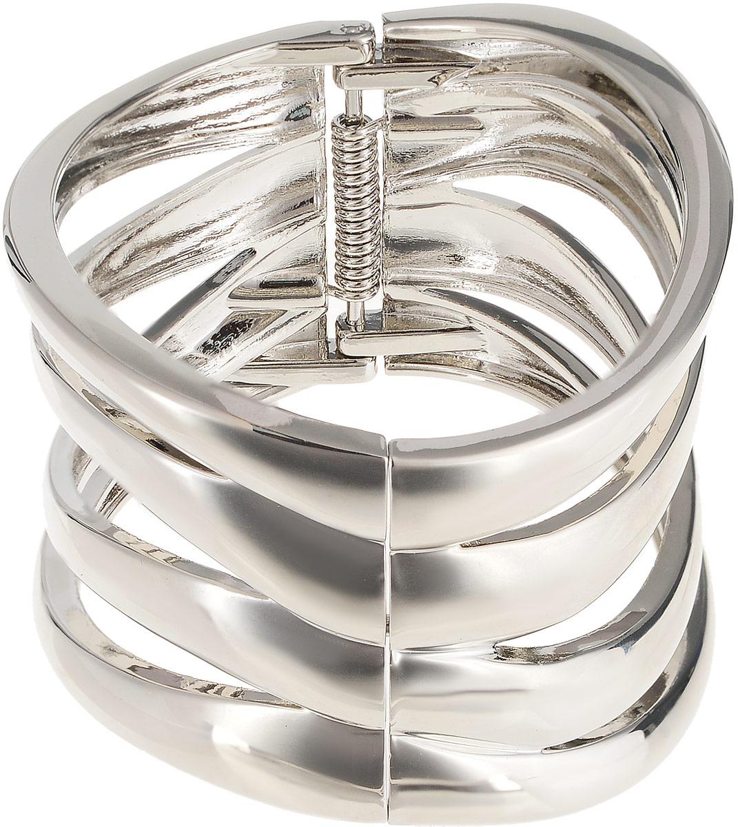 Браслет Каир. Гипоаллергенный ювелирный сплав серебряного тона. Segura, ИспанияКоктейльное кольцоБраслет Каир.Гипоаллергенный ювелирный сплав серебряного тона.Segura, Испания.Размер: диаметр 6,5 см, браслет подойдет на любой размер.