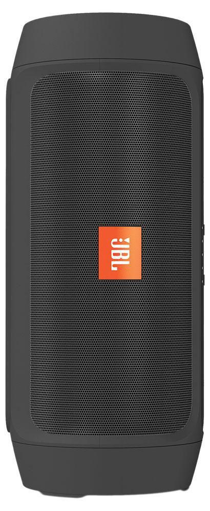 JBL Charge 2+, Black портативная акустическая системаCHARGE2PLUSBLKEUПортативная акустическая система JBL Charge 2+ с поддержкой Bluetooth и защитой от брызг позволяет быстро организовать вечеринку, воспроизводя мощный и высококачественный стереозвук, а благодаря аккумулятору на 6000 мАч вы сможете прослушивать музыку до 12 часов, одновременно подзаряжая свои устройства.Встроенный микрофон с функцией шумоподавления гарантирует безупречно четкий звук при звонках, а функция Social Mode позволяет подключить до 3 устройств, с которых вы сможете воспроизводить музыку по очереди.Поддержка технологии Bluetooth позволяет передавать потоковую музыку в высоком качестве с мобильных устройств. Источником звука может быть мобильный телефон, планшетное устройство или ноутбук - эта модель сможет с ним работать.Наличие пассивных излучателей обеспечивают более насыщенное звучание низких частот.