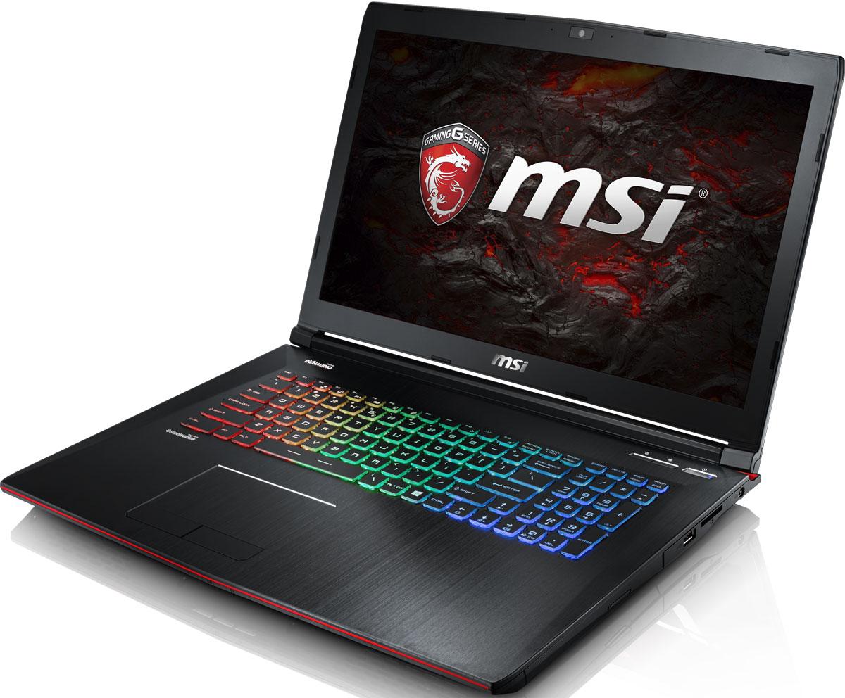 MSI GE72 7RE-212RU Apache Pro, BlackGE72 7RE-212RUMSI стала первой, кто применил новейшее поколение видеокарт NVIDIA Pascal в игровых ноутбуках. 3D-производительность GeForce GTX 1050 Ti по сравнению с GeForce GTX 965M увеличилась более чем на 15%. Инновационная система охлаждения Cooler Boost 4 и особые геймерские технологии раскрыли весь потенциал новейшей NVIDIA GeForce GTX 1050 Ti. Совершенно плавный геймплей на ноутбуках MSI GE72 7RE Apache Pro разбивает стереотипы об исключительной производительности десктопов, заставляя взглянуть на мобильный гейминг по-новому.7-ое поколение процессоров Intel Core серии H обрело более энергоэффективную архитектуру, продвинутые технологии обработки данных и оптимизированную схемотехнику. Производительность Core i7-7700HQ по сравнению с i7-6700HQ выросла в среднем на 8%, мультимедийная производительность - на 10%, а скорость декодирования/кодирования 4K-видео - на 15%. Аппаратное ускорение 10-битных кодеков VP9 и HEVC стало менее энергозатратным, благодаря чему эффективность воспроизведения видео 4K HDR значительно возросла.Запускайте игры быстрее других благодаря потрясающей пропускной способности PCI-E Gen 3.0x4 с поддержкой технологии NVMe на одном устройстве M.2 SSD. Используйте потенциал твердотельного диска Gen 3.0 SSD на полную. Благодаря оптимизации аппаратной и программной частей достигаются экстремальный скорости чтения до 2200 МБ/с, что в 5 раз быстрее твердотельных дисков SATA3 SSD.Вы сможете достичь максимально возможной производительности вашего ноутбука благодаря поддержке оперативной памяти DDR4-2400, отличающейся скоростью чтения более 32 Гбайт/с и скоростью записи 36 Гбайт/с. Возросшая на 40% производительность стандарта DDR4-2400 (по сравнению с предыдущим поколением, DDR3-1600) поднимет ваши впечатления от современных и будущих игровых шедевров на совершенно новый уровень.Эксклюзивная технология MSI SHIFT выводит систему на экстремальные режимы работы, одновременно снижая шум и температуру до минимально возм